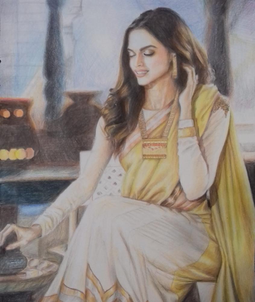 Deepika Padukone by Chikki